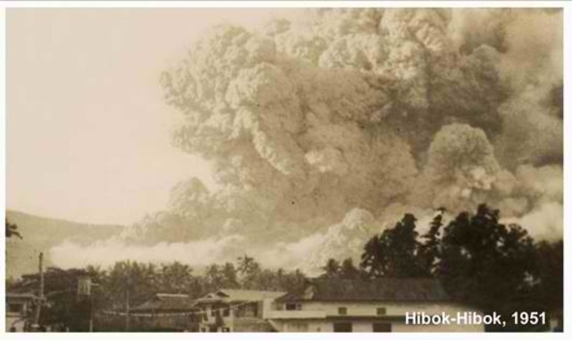 1951 Mt. Hibok-Hibok Eruption