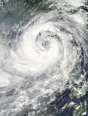 Typhoon Pedring (Nesat)