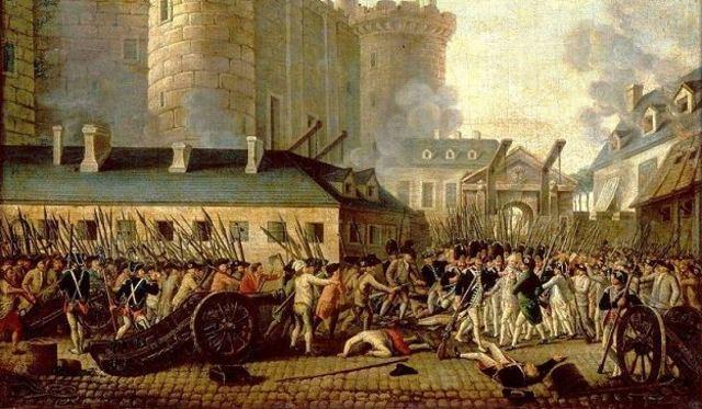 Revoluciones burguesas, las grandes potencias y el