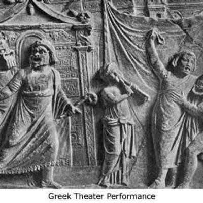 Greek Theatre History timeline