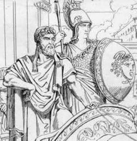 600-570 BC : City of Dionysia