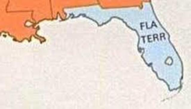 Florida Becomes a United States Territory