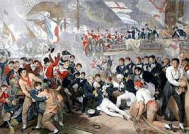 Nelson wins at Trafalgar