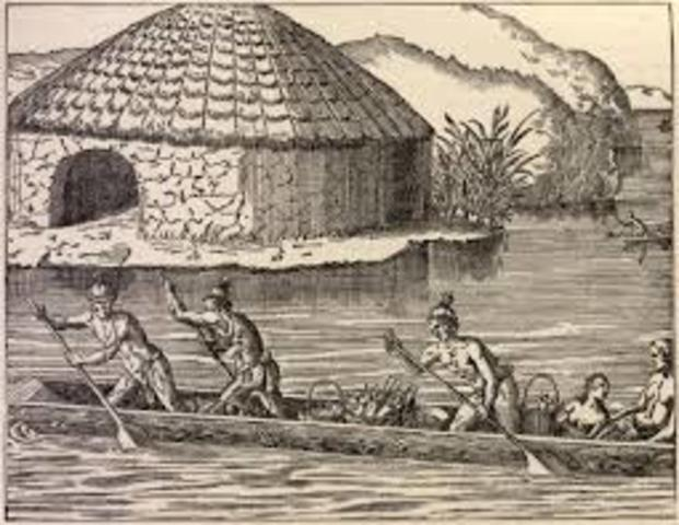 The Seminole Withdraw to the Everglades
