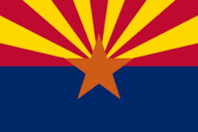 Arizona admitted