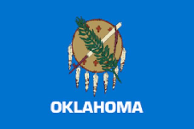 Oklahoma admitted