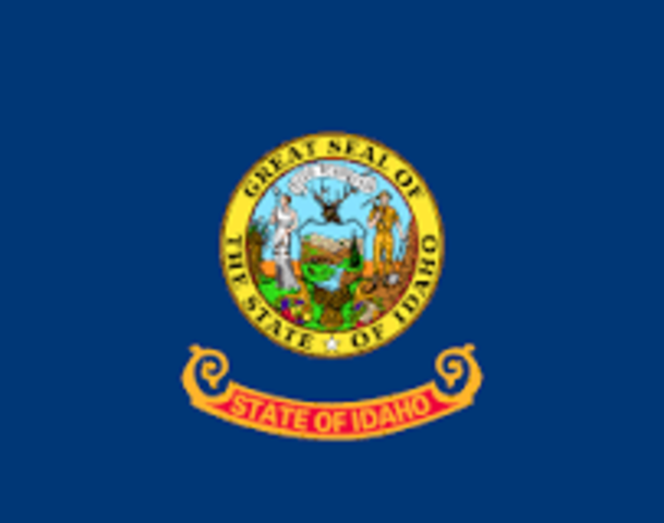 Idaho admitted