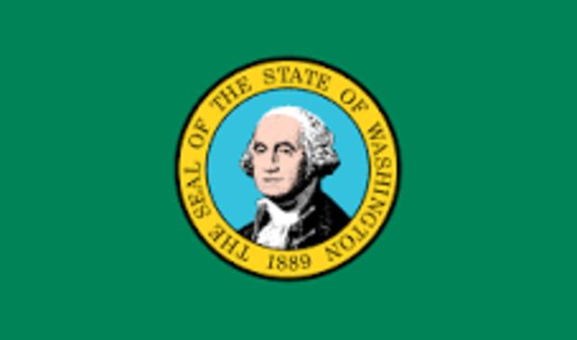 Washington admitted