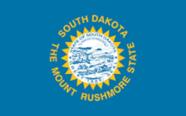 South Dakota admitted