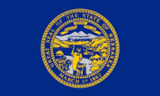 Nebraska admitted