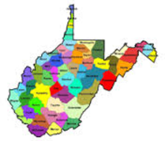 West Virginia admitted