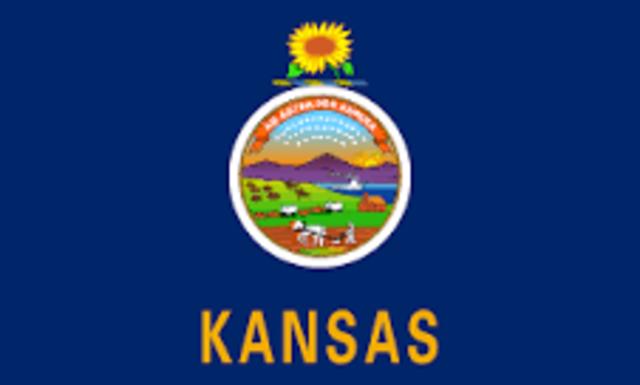 Kansas admitted