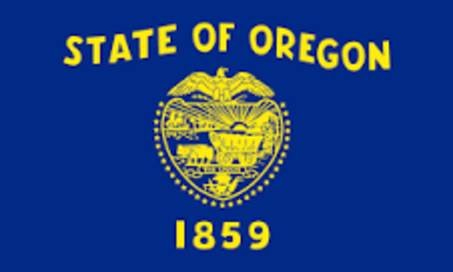Oregon admitted