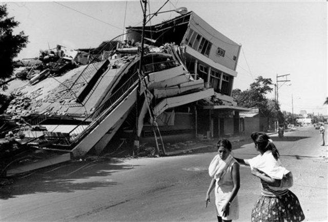 Earthquake Strikes Nicaragua