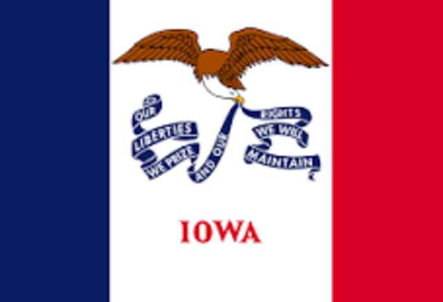 Iowa admitted