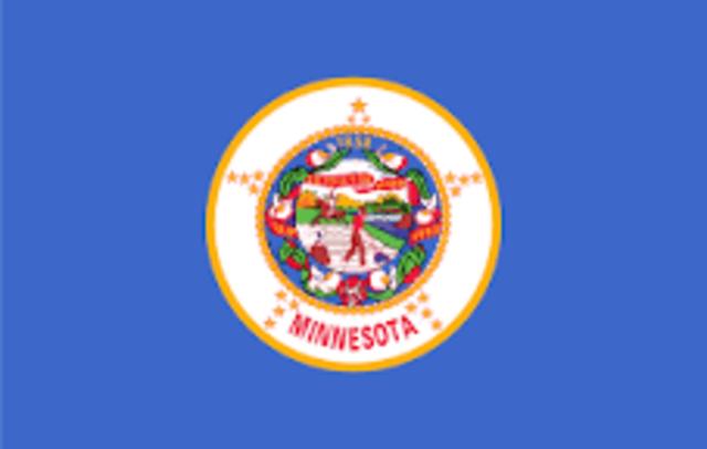 Minnesota admitted