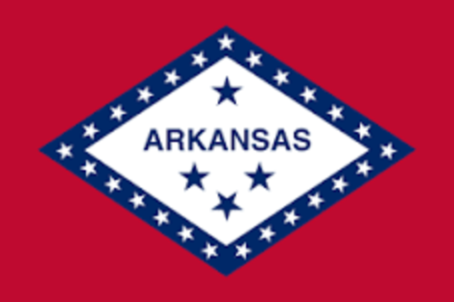 Arkansas admitted