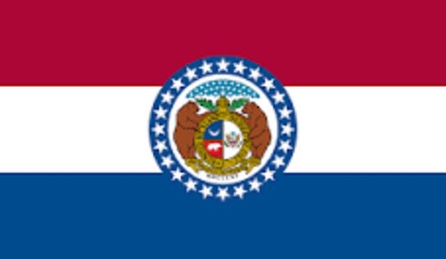 Missouri admitted