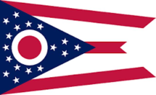 Ohio admitted