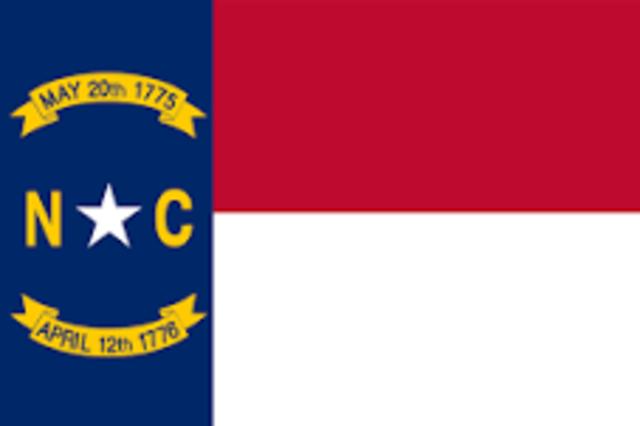 North Carolina admitted