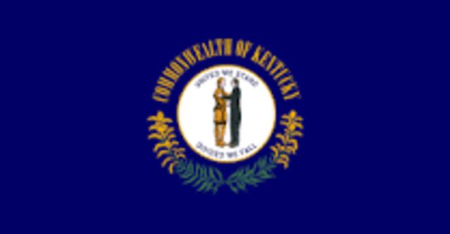 Kentucky admitted