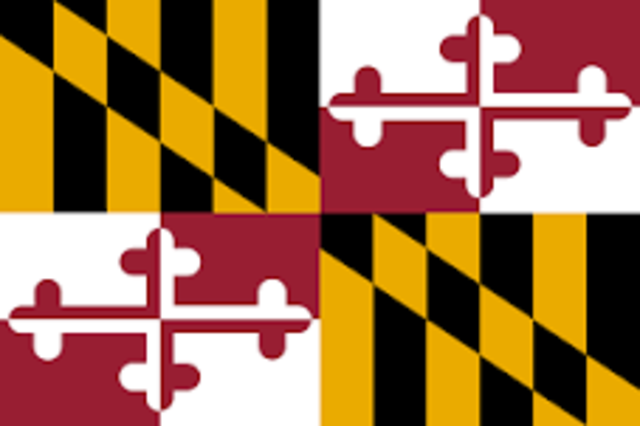 Maryland admitted