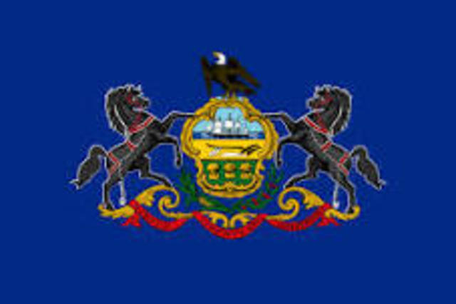 Pennsylvania admitted
