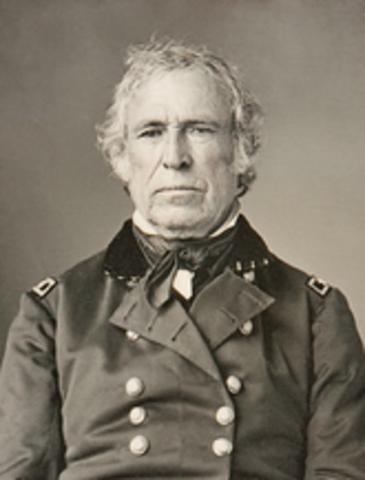 Zachery Taylor presidency