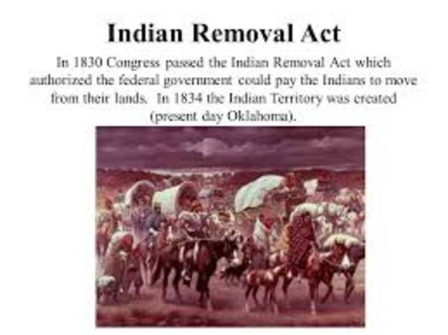 Indian Removal Act United States Politica...