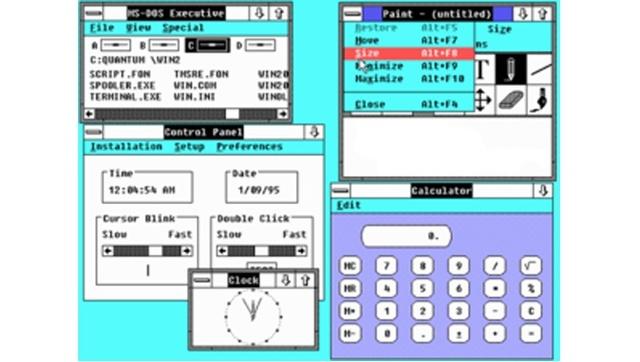 versiones de windows timeline timetoast timelines