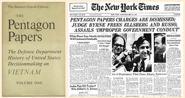 the pentagon papers case essay Research paper on the pentagon papers case 1661 words | 7 pages harrison albo mrs knotts 3 english h february 27, 2012 the pentagon papers case in the past, there has always been conflict.