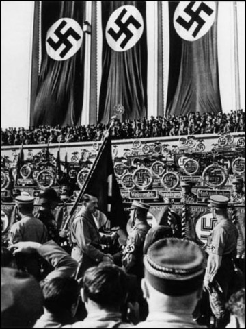 account of the rise to power of the nazi party The nazis' first attempt to seize power, in the 1923 munich uprising, ended in  failure and hitler's brief imprisonment during the 1920s the nazi party extended .