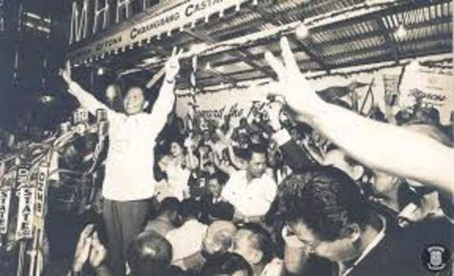 Ferdinand Marcos Re-Elected as President