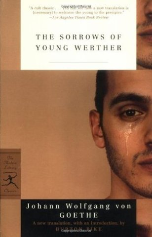 The Sorrows of Young Werther by Goethe