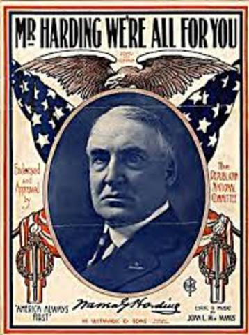 return to normalcy Without looking it up, i was unable to name the democratic candidate for president in 1920 the name is james m cox, a successful two-term governor of ohio and democratic party leader – in his day, a politician as widely known as hillary clinton is today unfortunately for cox, he was running in .