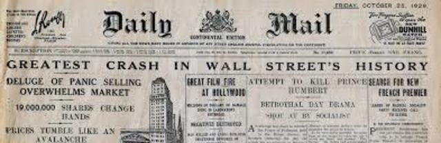 stock market crash black tueday