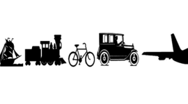 Evolution of Transportation timeline
