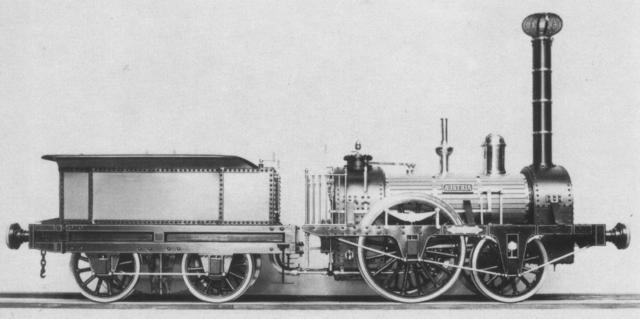 First Steam Locomotive