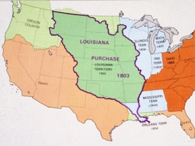 manifest destiny digital timeline timetoast timelines rh timetoast com Louisiana Purchase Coloring Map Louisiana Purchase Money