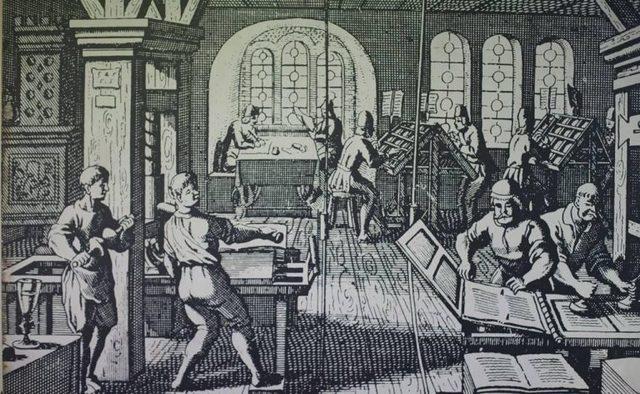 Inicia el periódico de prensa, 1539