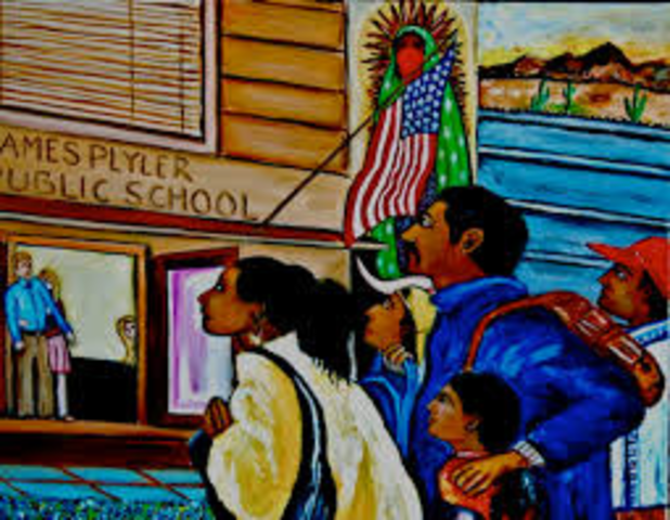 plyler v doe In 1975 texas revised the state's school admission and funding statute by excluding undocumented children from free attendance in public schools the impact of.