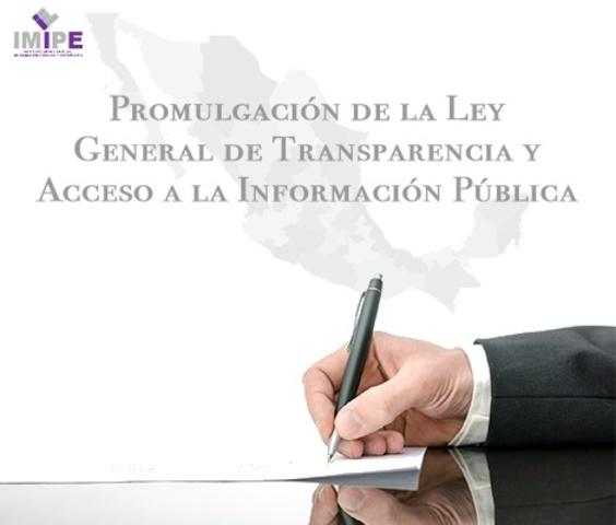 Ley Federal de acceso a la Información Pública Gubernamental