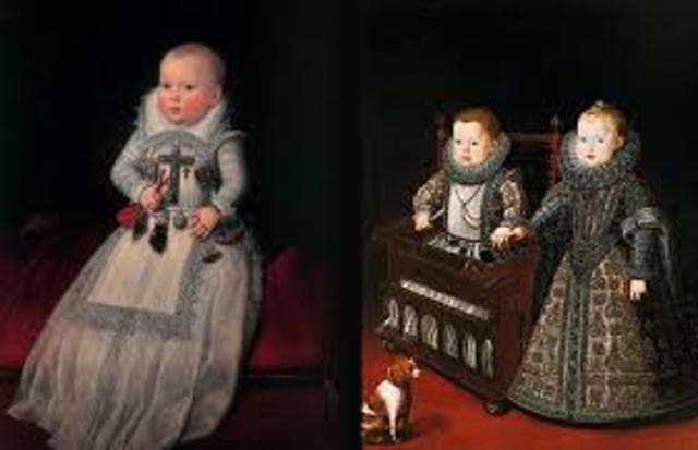 El niño como adulto pequeño (Siglos XVI y XVII):