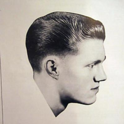 peinado en hombres atravez del tiempo timeline