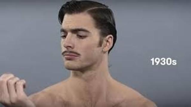 peinado de los años 1930's
