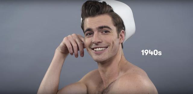 Impresionante peinados años 20 hombre Fotos de cortes de pelo estilo - peinado en hombres atravez del tiempo timeline | Timetoast ...