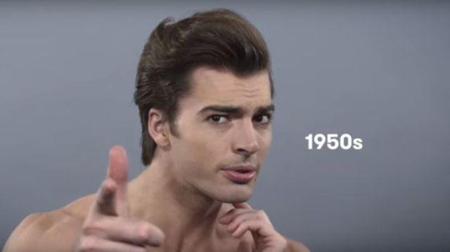 peinado de los años 1950's