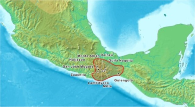 origen de la cultura zapoteca