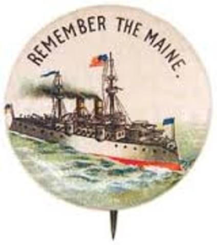 Explosion of USS Maine