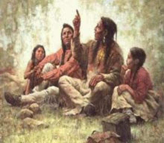 Mayas y chichimecas